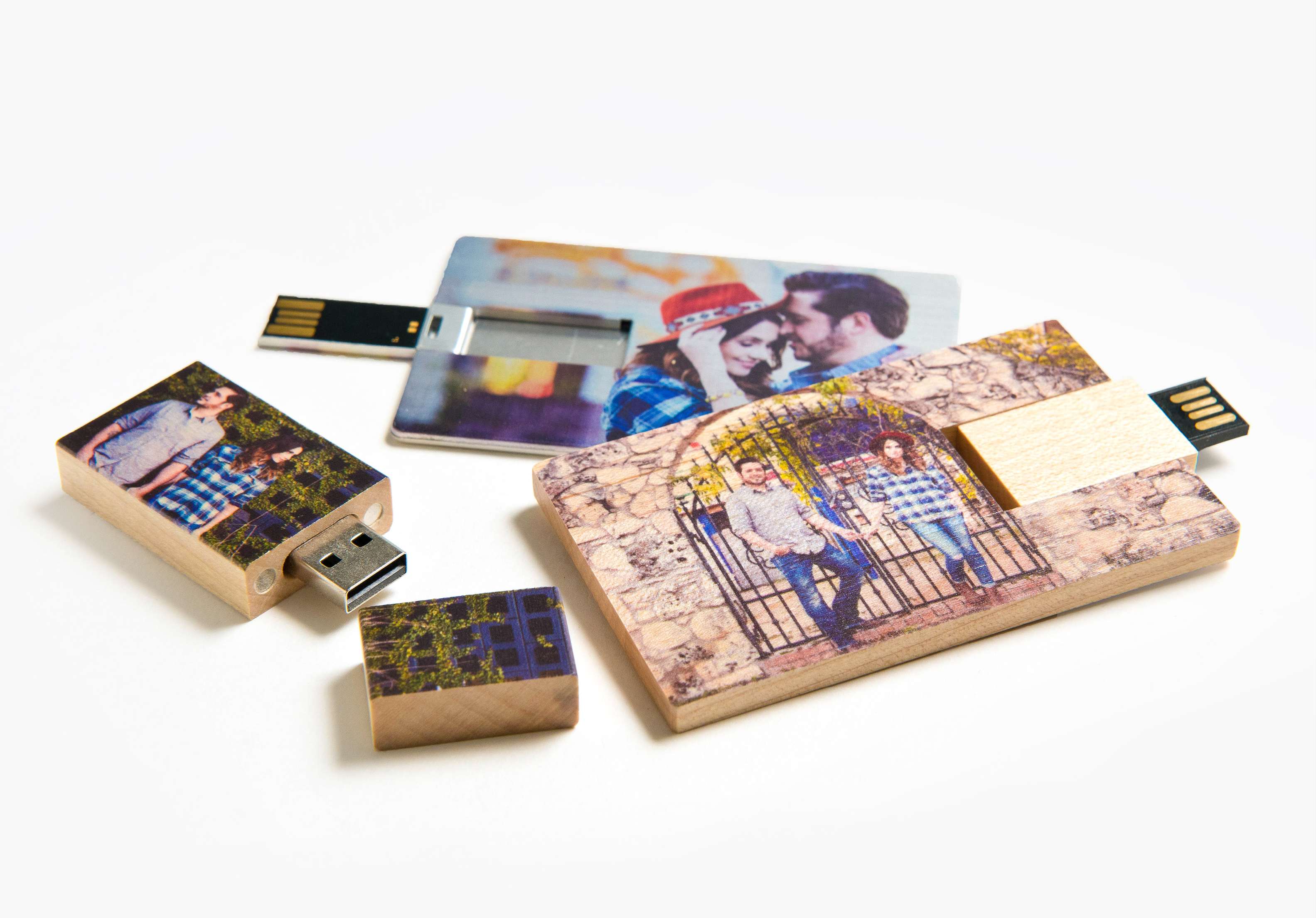 custom usb drives personalized photo usb drives wooden usbs