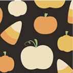 candycorn and pumpkin prints