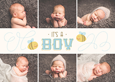 WELCOME BAY-BEE BOY