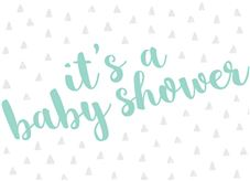 Baby Bliss Invite