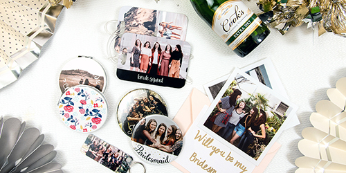 Custom Bridesmaids Photo Gifts