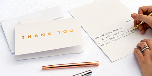 Custom Thank You Cards for Weddings