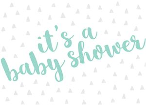 Custom Baby Shower Invite Photo Card