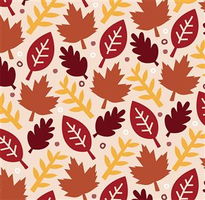 Fall leaves themed Buzz Book