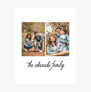 Custom Family Collage Photo Print