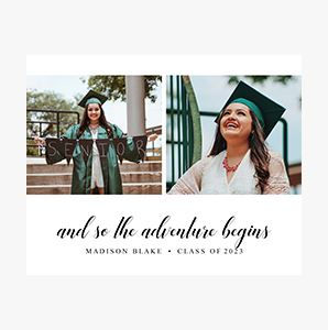 Graduation themed Custom Collage Photo Print