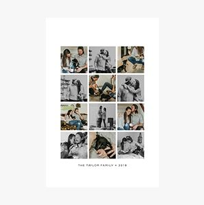 Love Story on a Custom Collage Photo Print