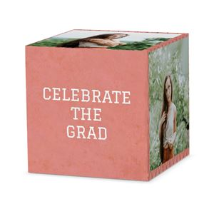 celebrate the grad on a custom sugar and spice cube