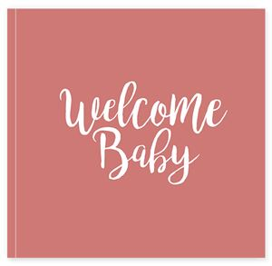 Welcome newborn baby themed Buzz Book