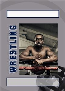 Custom wrestling trading card